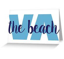 va beach Greeting Card