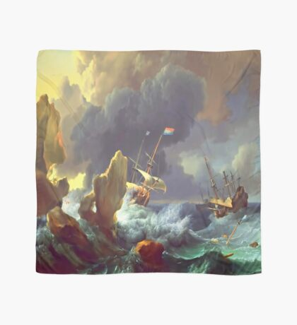 The Sea Takes Back Scarf