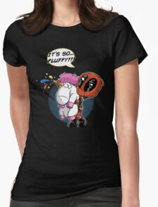 Fluffy! Womens Fitted T-Shirt