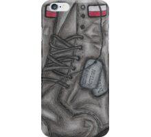 Polish MIA Boots iPhone Case/Skin