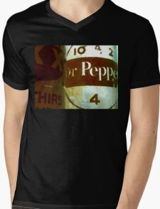 VINTAGE DR. PEPPER Mens V-Neck T-Shirt
