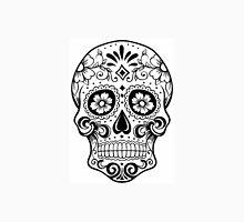 black & white Sugar Skull Unisex T-Shirt