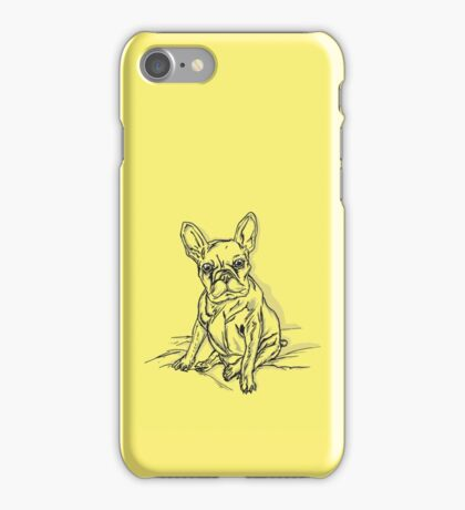 Yellow French iPhone Case/Skin