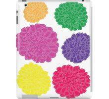 Multi-colored Chrysanthemums iPad Case/Skin