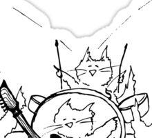 The Meow Meows Sticker