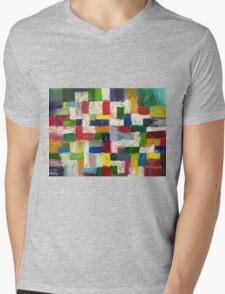 Olympics oil painting Mens V-Neck T-Shirt