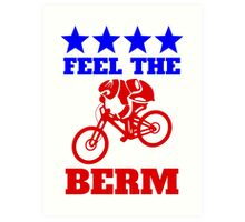 Democrats on Bikes Art Print