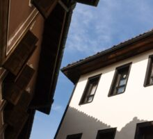 Sun and Shade - Elegant Revival Houses in Old Town Plovdiv, Bulgaria - Vertical Sticker