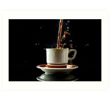 Ahhhh! Coffee! Art Print