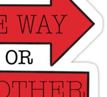 One way or another- One Direction Sticker