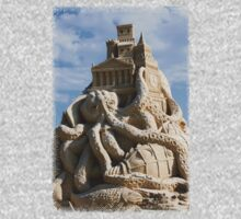 Sand Sculpture ~ a Tribute to Jules Verne Baby Tee