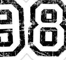Year 1986 Vintage Birthday Anniversary Sticker