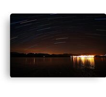 Star trailing Canvas Print