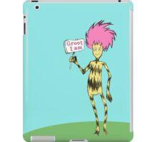 Groot I Am iPad Case/Skin