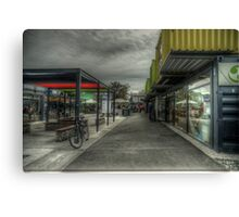 container shopping mall Canvas Print