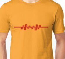 Red Soundwave Unisex T-Shirt