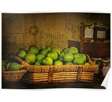 Rustic Limes Poster