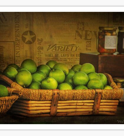 Rustic Limes Sticker