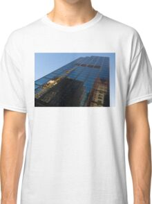Reflecting on Skyscrapers - Downtown Atmosphere  Classic T-Shirt