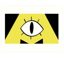 Bill Cipher Art Print