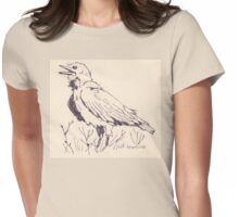 The Crow's song Womens Fitted T-Shirt
