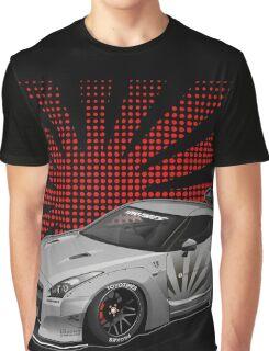 The Godzila GTR Liberty Walk Graphic T-Shirt