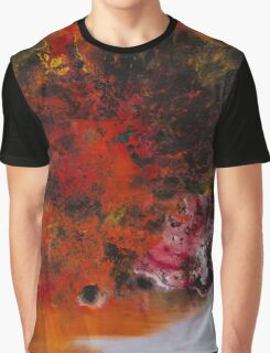 Solitary Red Graphic T-Shirt