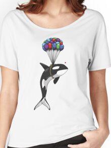 Big Orca, Bigger Dreams Women's Relaxed Fit T-Shirt