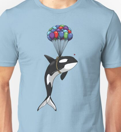 Big Orca, Bigger Dreams Unisex T-Shirt
