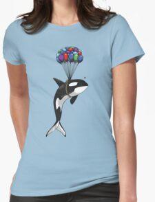 Big Orca, Bigger Dreams Womens Fitted T-Shirt