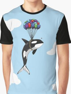 Big Orca, Bigger Dreams Graphic T-Shirt