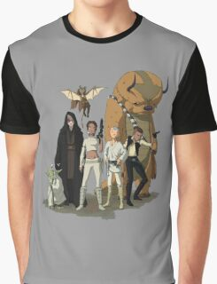 avatar/star wars crossover Graphic T-Shirt