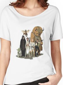 avatar/star wars crossover Women's Relaxed Fit T-Shirt