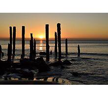 The Sticks at Port Willunga South Australia Photographic Print