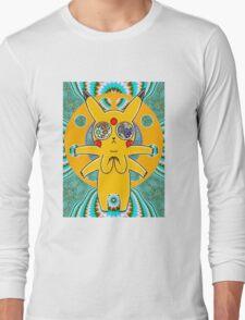 Psychic Pikachu Long Sleeve T-Shirt