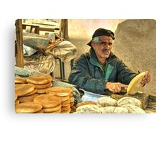 Baker Man  Canvas Print