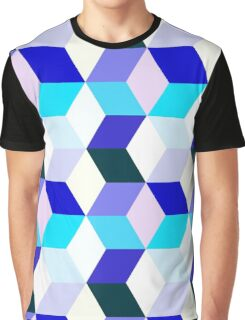 Bright cubes Graphic T-Shirt