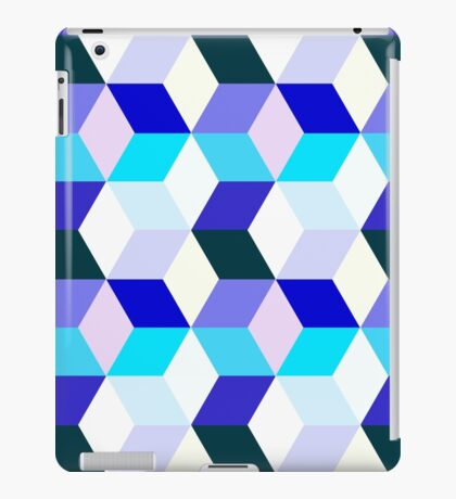 Bright cubes iPad Case/Skin