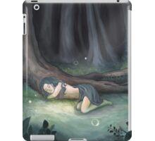 Sleeping in the Woods iPad Case/Skin