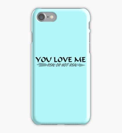 You Love Me, Real or Not Real? - Hungergames mockingjay part 2 iPhone Case/Skin