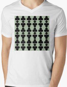 Clubs Mens V-Neck T-Shirt