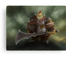 Orc Canvas Print