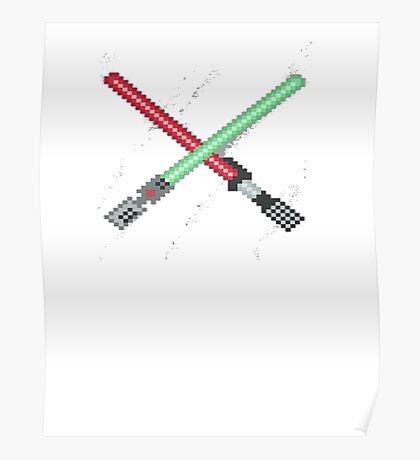 Lightsabers Poster