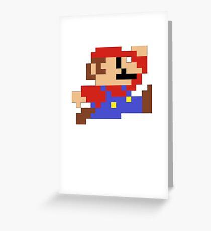 Super jump man Greeting Card