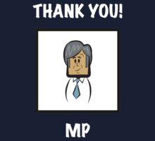 "Man City's Manuel Pellegrini: ""THANK YOU!"" One Piece - Long Sleeve"