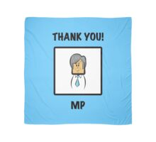 "Man City's Manuel Pellegrini: ""THANK YOU!"" Scarf"