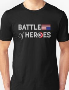 Battle of heroes Unisex T-Shirt