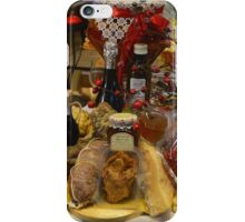 A Storefront of Typical Local Products. Mantua, Italy iPhone Case/Skin