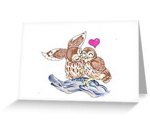 The Love Owls Greeting Card