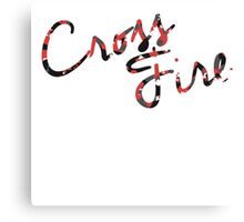 CrossFire Clothing Canvas Print